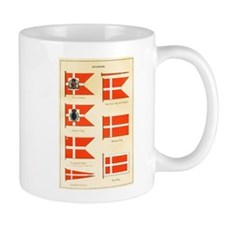 Old Denmark Flags Mug