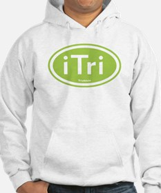 iTri Green Oval Hoodie