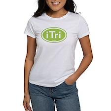 iTri Green Oval Tee