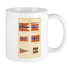 Old Norway Flags Coffee Mug