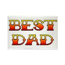 Best Dad Rectangle Magnet