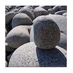 Acadia Sea Wall Rocks Tile Coaster