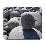 Acadia Sea Wall Rocks Mousepad