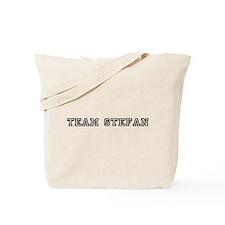 Team Stefan Tote Bag
