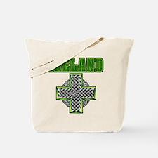 Ireland Cross Tote Bag