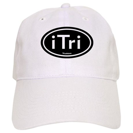 iTri Black Oval Cap
