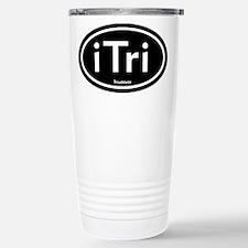 iTri Black Oval Travel Mug