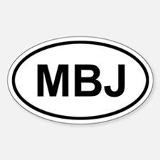 Montego Bay Jamaica MBJ Decal