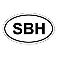 St. Barthelemy SBH Decal