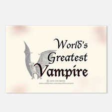 Greatest Vampire Postcards (Package of 8)