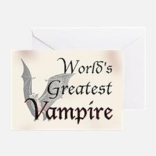 Greatest Vampire Greeting Cards (Pk of 10)