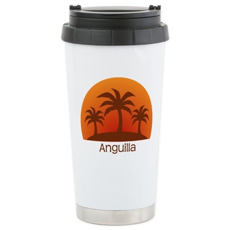 Anguilla Stainless Steel Travel Mug
