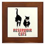 Reservoir Cats Framed Tile