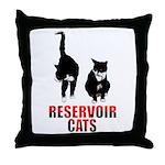 Reservoir Cats Throw Pillow