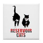 Reservoir Cats Tile Coaster