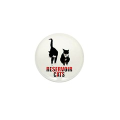 Reservoir Cats Mini Button (10 pack)