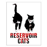 Reservoir Cats Small Poster