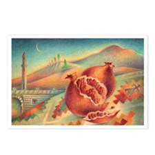 Pomegranates of Anatolia Postcards (Package of 8)
