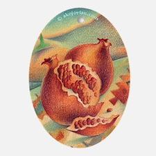 Pomegranate of Anatolia Ornament (Oval)