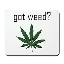 Funny Weed Mousepad