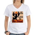 Crawfish Women's V-Neck T-Shirt