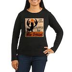 Crawfish Women's Long Sleeve Dark T-Shirt