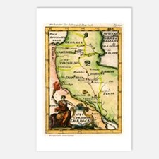 Map of Armenia Postcards (Package of 8)