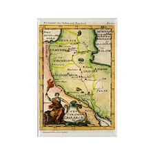 Map of Armenia Rectangle Magnet