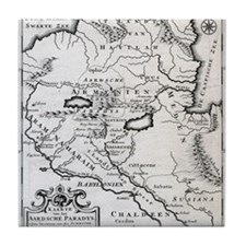 Armenian Map Tile Coaster