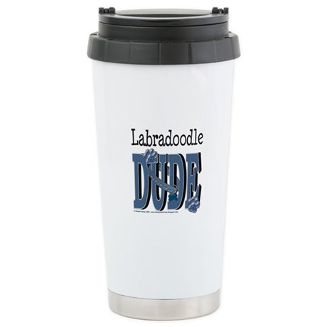 Labradoodle DUDE Stainless Steel Travel Mug