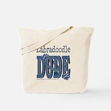 Labradoodle DUDE Tote Bag