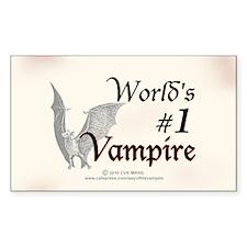 #1 Vampire Decal