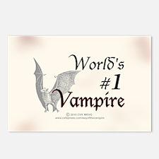 #1 Vampire Postcards (Package of 8)