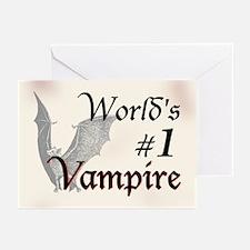 #1 Vampire Greeting Cards (Pk of 10)