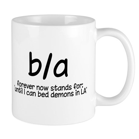 b/a bedding la demons mug