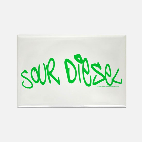 Sour Diesel Rectangle Magnet