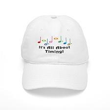Musical Timing Baseball Cap