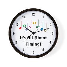 Musical Timing Wall Clock