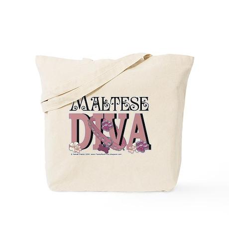 Maltese DIVA Tote Bag