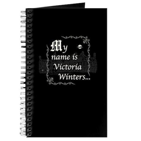 Victoria Winter B&W Journal