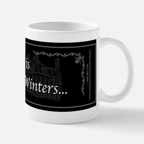 Victoria Winter B&W Mug