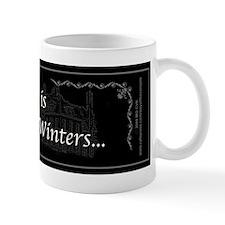 Victoria Winter B&W Small Mugs