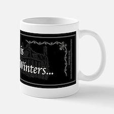 Victoria Winter B&W Small Small Mug