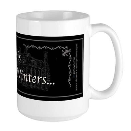 Victoria Winter B&W Large Mug