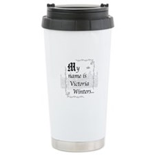 Victoria Winter B&W Travel Mug