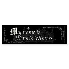Victoria Winter B&W Bumper Sticker