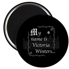Victoria Winter B&W Magnet