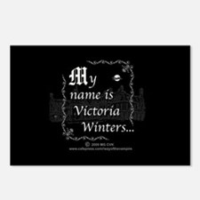 Victoria Winter B&W Postcards (Package of 8)
