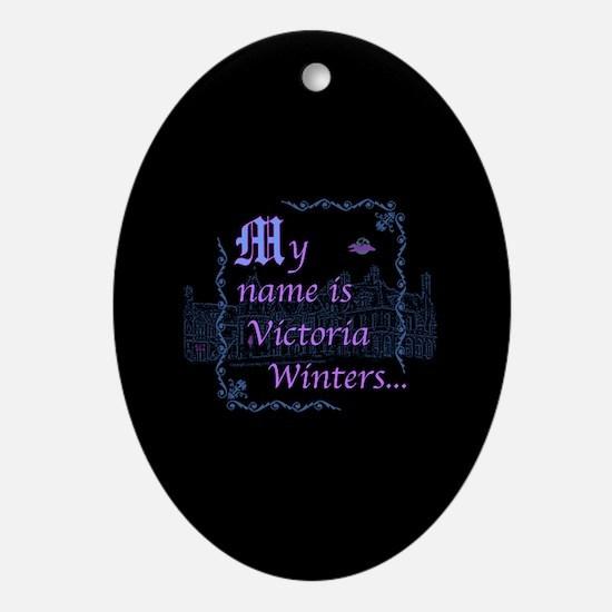 Victoria Winters Color Ornament (Oval)