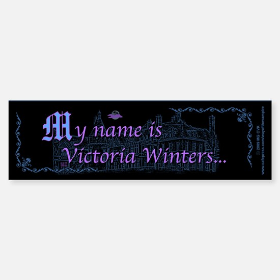Victoria Winters Color Sticker (Bumper)